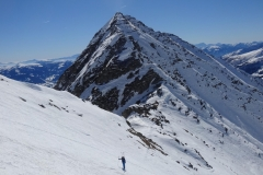 glockwandscharte-reitereck-vorgipfel-skitour-06-Faschaunereck-und-Glockwandscharte