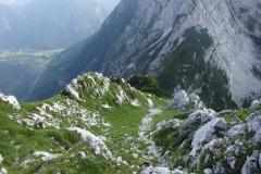 bratovska-smer-srebrnjak-klettern-14-Abstieg-anspruchsvollJPG
