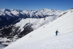 glockwandscharte-reitereck-vorgipfel-skitour-08-Hochalmspitze-im-Hintergrund