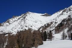 glockwandscharte-reitereck-vorgipfel-skitour-13-Blick-zurück-Abfahrt
