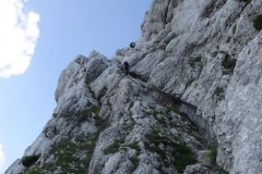 bratovska-smer-srebrnjak-klettern-15-oberer-Abseiler
