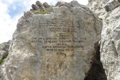 via-meledes-monte-zermula-klettern-15-Inschrift-WK1