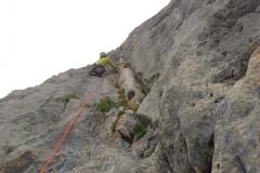 spigolo-sud-pilastro-della-plote-klettern-09-SL7-super-Rissverschneidung